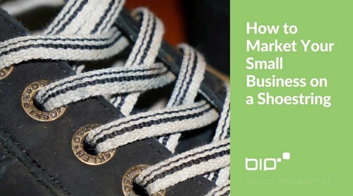 How to market your small business on a shoestring