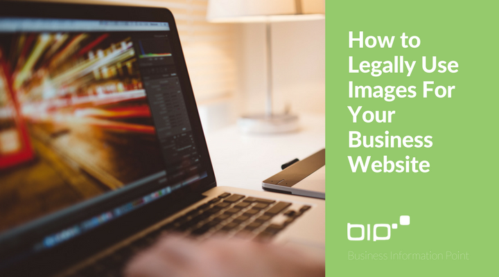 How to Legally Use Images For Your Business Website