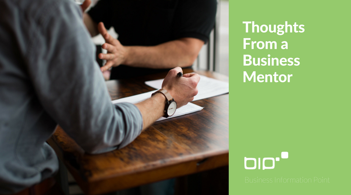 Thoughts From a Business Mentor